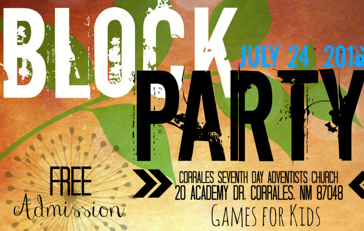 Free Block Party
