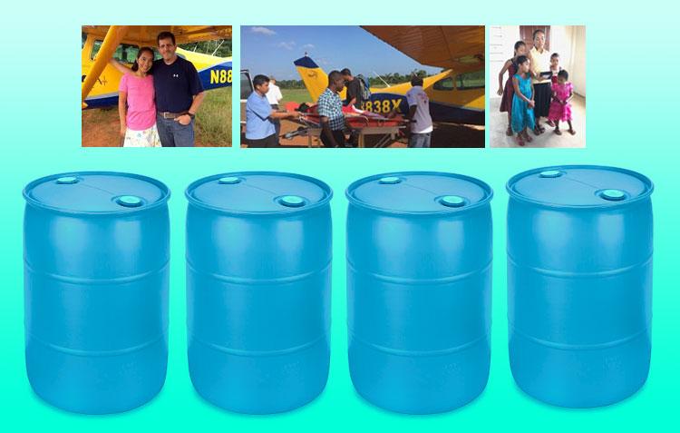 Corrales Church Fills Four Mission Barrels